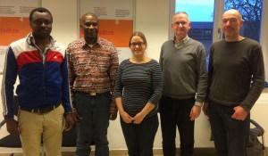 Treffen mit Transtech Africa